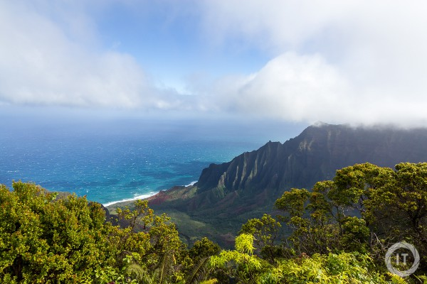 The classic view of Kalalau Lookout